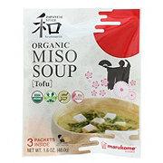 Marukome Organic Tofu Miso Soup