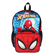 Marvel Spiderman Backpack With Detach Lunch