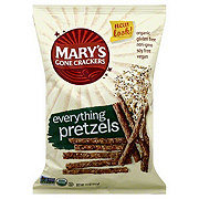 Mary's Gone Crackers Everything Pretzels Sticks