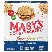 Mary's Gone Crackers Gluten Free Super Seed Crackers