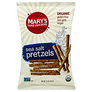 Mary's Gone Crackers Organic Sea Salt Sticks and Twigs Pretzels