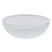 Maryland Plastics 10.5 in Regal Silver Edge Bowl