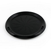 Maryland Plastics Black Swirl Tray,