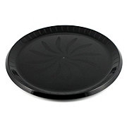 Maryland Plastics Black Swirl Tray