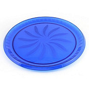 Maryland Plastics Blue Swirl Tray