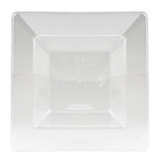 MaryLand Plastics Clear Square Dessert Bowl