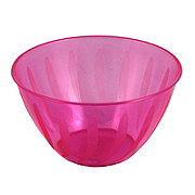 Maryland Plastics Magenta Swirls Small Bowl