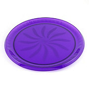 Maryland Plastics Purple Swirl Tray