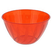 Maryland Plastics Red Swirls Small Bowl