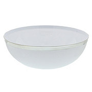 Maryland Plastics Regal Silver Edge Bowl, 10.5 inch