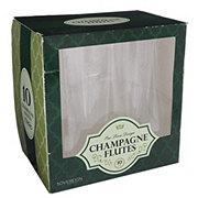 Maryland Plastics Sovereign Champagne Glasses