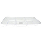 Maryland Plastics Sovereign Clear Sectional Tray