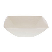 Maryland Plastics Square White Presentation Bowl