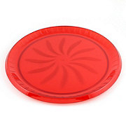 Maryland Plastics Swirl Tray Red