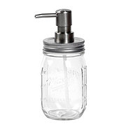 Mason Craft & More Clear Glass Soap Pump