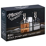 Mason Craft & More Soap Dispenser Set