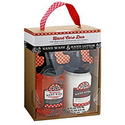 Mason Jar Collection Hand Care Duo Peppermint Creme