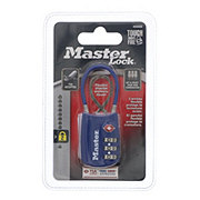 Master Lock 1-3/16in (30mm) Wide Set Your Own Combination Lock