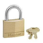 Master Lock 4 Pin Tumbler Brass Padlock