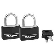 Master Lock Covered Solid Body Padlocks