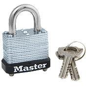Master Lock Padlock Patented Locking Lever