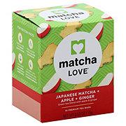 Matcha Love Apple Ginger Green Tea Bags