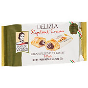 Matilde Vicenzi Delizia Hazelnut Cream Filled Puff Pastry
