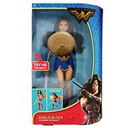 Mattel DC Comics Wonder Woman Shield Block Doll