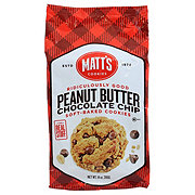 MATTS Peanut Butter Chocolate Chip Cookies