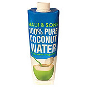 Maui & Sons 100% Coconut Water