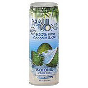 Maui & Sons 100% Pure Coconut Water Isotonic Sports Drink