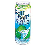 Maui & Sons Pure Coconut Water