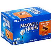 Maxwell House Breakfast Blend Light Roast Single Serve Coffee K Cups