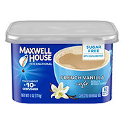 Maxwell House International Cafe Sugar Free French Vanilla Beverage Mix