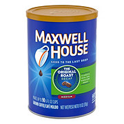 Maxwell House Original Decaf Medium Roast Ground Coffee