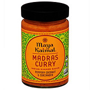 Maya Kaimal Medium Madras Curry Indian Simmer Sauce