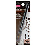Maybelline Brow Define + Fill Duo Eyebrow Pencil, Soft Brown