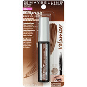 Maybelline Brow Precise Fiber Volumizer Eyebrow Mascara, Soft Brown
