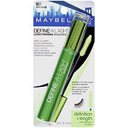 Maybelline Define-A-Lash Lengthening Washable Mascara, Very Black