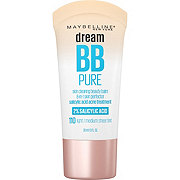 Maybelline Dream Pure BB Cream Light/ Medium Sheer Tint Makeup