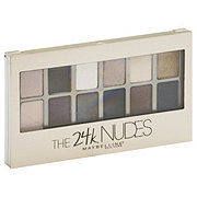Maybelline Eye Shadow 24K Nudes Palette Gold