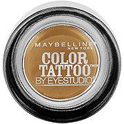 Maybelline Eyestudio ColorTattoo 24HR Cream Gel Eyeshadow, Bold Gold