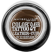 Maybelline Eyestudio ColorTattoo Leather 24HR Cream Eyeshadow, Chocolate Suede