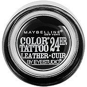 Maybelline Eyestudio ColorTattoo Leather 24HR Cream Eyeshadow, Dramatic Black