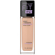 Maybelline Fit Me Dewy + Smooth Foundation, Buff Beige