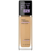 Maybelline Fit Me Dewy + Smooth Foundation, Natural Beige