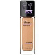 Maybelline Fit Me Dewy + Smooth Foundation, Natural Buff