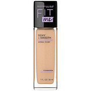 Maybelline Fit Me Dewy + Smooth Foundation, Nude Beige