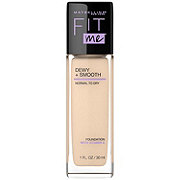 Maybelline Fit Me Dewy + Smooth Foundation, Porcelain