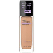 Maybelline Fit Me Dewy + Smooth Foundation, Pure Beige